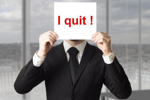 QUITTING: when is the right time to quit?